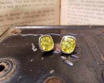 Greanfoil Earrings