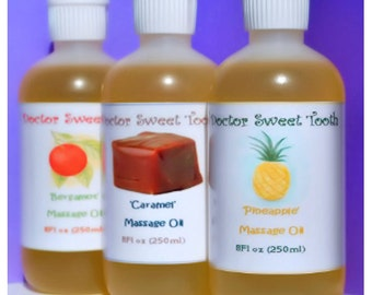 Scented Massage Oil - Pick Any Scent 8oz