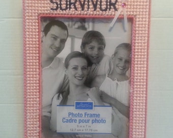 Breast Cancer Survivor Photo Frame