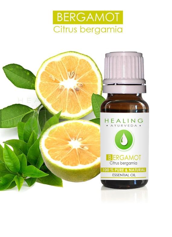 Bergamot essential oil- Citrus burgamia- 100% Essential oil- Aromatherpay skin care- acne- Pure bergamot oil- Bergamot orange- Citrus oil
