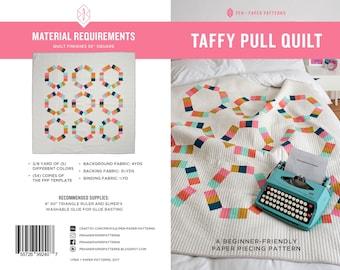 Taffy Pull PDF Quilt Pattern