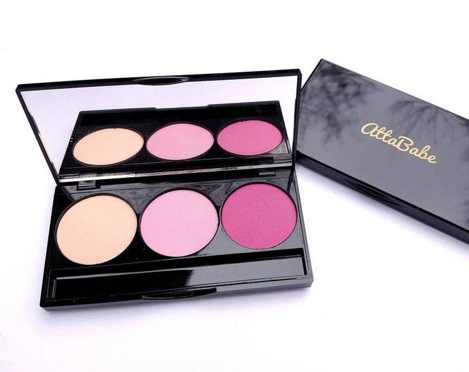 Kids Makeup  - 3 Color Makeup Palette - Pretend Play Makeup - No color, No mess! - fake makeup - pretend - pretend play - kids cosmetics