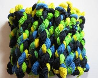 Hand Painted Superwash Merino/Nylon 4-Ply Sock Yarn -- Better Call Casey