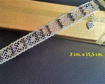 Lace Bracelet in spindles