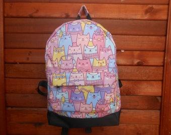 SALE! Cute cat backpack bag