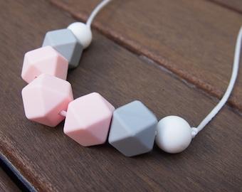 Strawberry Shortcake Silicone Bead Necklace