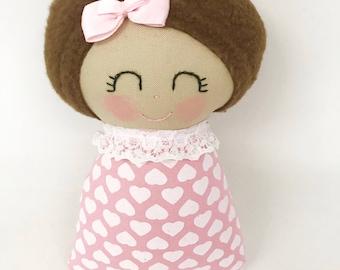 Girl Baby Toy, Girl Tag Toy, Baby Girl Toy, Baby Shower Gift, Baby Girl gift