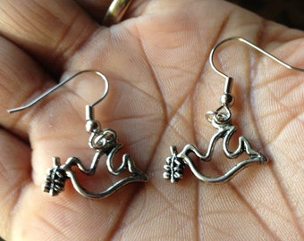 Dove Charm Earrings