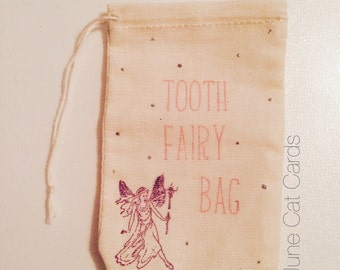 Tooth Fairy Trinket Bag