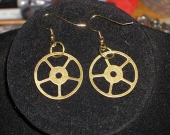 Clock Gear Earrings