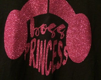 Boss Princess Shirt (Star Wars Leia)