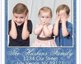 PHOTO Stickers, Custom Labels - 2 INCH SQUARE - Personalized for You