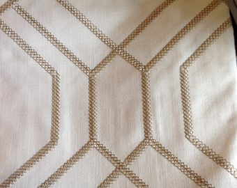Custom Curtains,New! Up to 10% Off Custom Drapery, Geometric Pattern, Window Treatments, Modern Fabric, Designer Favorite, *Geometric Quinn*