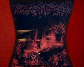DECAPITATED diy halter top death metal Winds Of Creation shirt   s m l xl