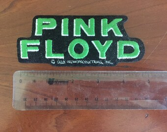 Vintage Green Pink Floyd Patch