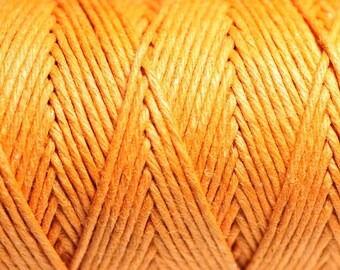 5 Metters - 1.2 mm Orange hemp twine cord - 4558550083852