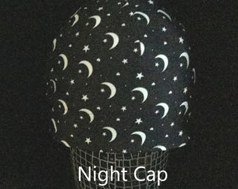 """Helmet Liner/Running Cap/Ski Cap - """"Night Cap"""
