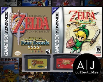 The Legend of Zelda The Minish Cap and A Link To The Past Nintendo Gameboy Advance GBA