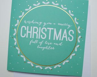 Laughter & Joy Christmas Card