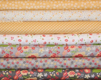 7 Half Yard bundle Lulu Lane by Corey Yoder .. Moda fabrics