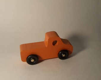 Handcrafted Play Pals Wood Toy Pickup