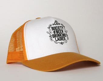 Trucker Hat with logo Society of Beer Drinking Ladies™