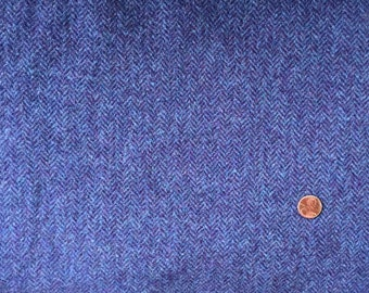 Purple Passion - Mill Dyed Textured Wool 1/4 yard