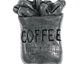 Bag of Coffee Lapel Pin - CC213