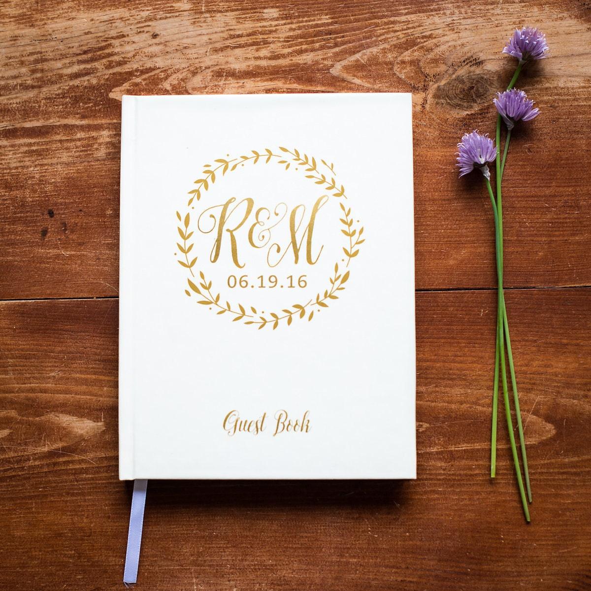 Wedding Guest Book 26 Hardcover Wedding Guestbook Wedding