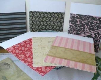 Planner Envelopes For Cash System, Paris Theme, Cash Envelopes, Top Open Envelopes, Set of 5, Last One, Limited Edition