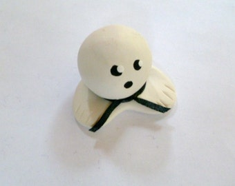 Mini Marble Friend Shown here in Karate Boy with Black Belt