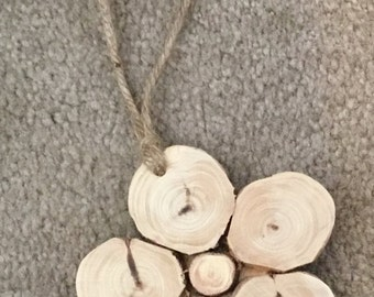 Juniper Wood Christmas Ornament