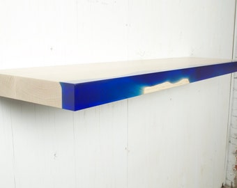 Resin and Wood Shelf