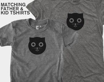 Watson the Cat - Matching Shirts (Dad & Kid)
