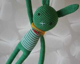 Long bunny puppet- For the Zalgiris fans