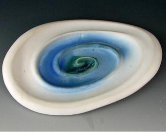 CERAMIC SOAP DISH #22 - Pottery Soap Dish - Stoneware Soap Dish - Handmade Soap Dish - Ceramc Soap Holder - Bar Soap Dish - Bar Soap Holder