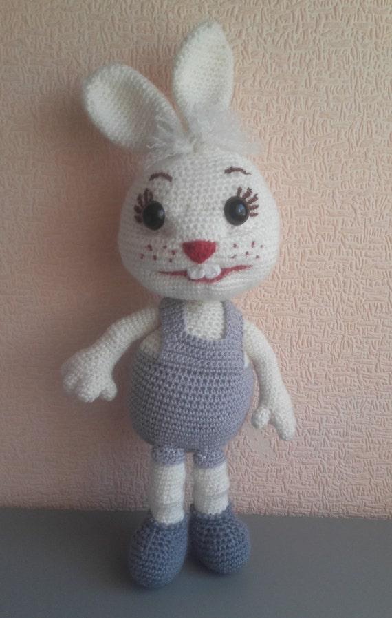 Bunny Handarbeit Häkeln Spielzeug Bunny Puppe Ostern Kaninchen
