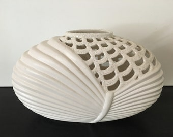 Vintage Oval Vase