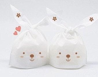 Bunny rabbit Bags - 10 pcs