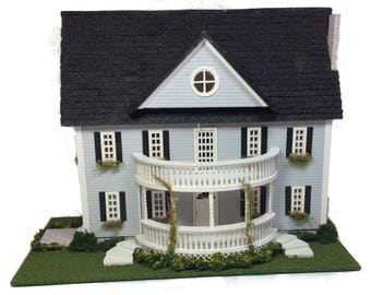 Complete Kit - Quarter Inch Classic Colonial Style House