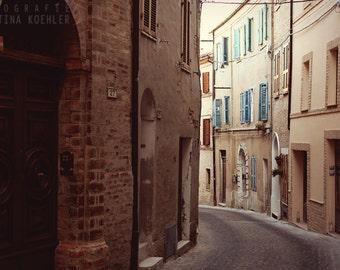 NARROW photography print, Italian street photography, 8x12