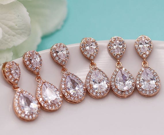 to bridesmaids a for gifts be stylish earrings bridesmaid