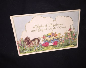 Whitney-Made Easter Post Card
