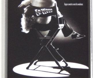 Ed Wood Movie Poster Fridge Magnet