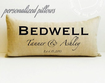 10 year anniversary gift, farmhouse pillow, anniversary pillow, wedding pillow, personalized gift, personalized pillow, date pillow