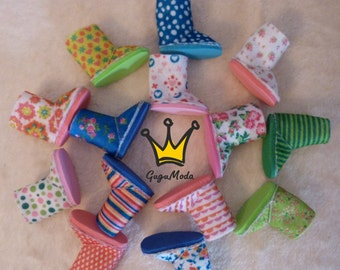Littlefee (YOSd) felt boots. 14 colours!