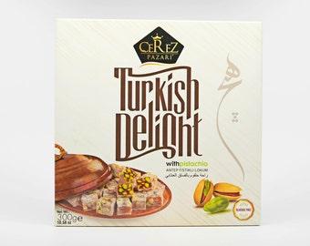 Turkish Delight (Pistachio) Lokum (10.5 0z)