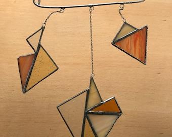 Autumn Stained Glass Suncatcher