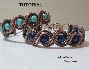 TUTORIAL - Double Twisted Wire Weave Bracelet