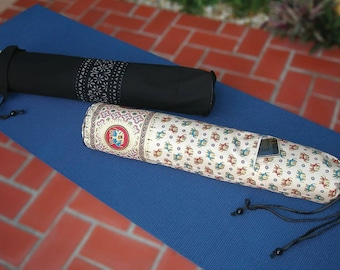 Thai Yoga & Pilates Mat Bag